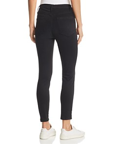 FRAME - Ali High Rise Cigarette Jeans in Noir