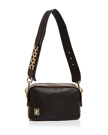 MARC JACOBS - The Squeeze Leather Shoulder Bag