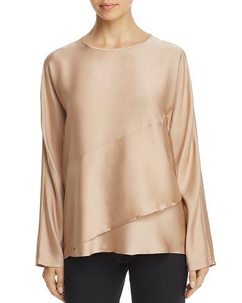 Donna Karan - Silk Tiered Top