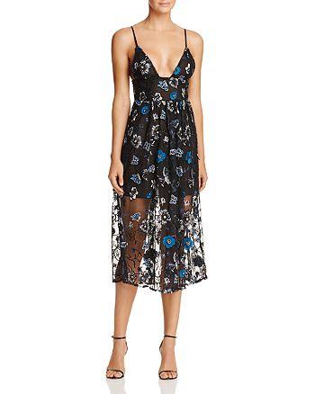 For Love & Lemons - Botanic Midi Dress