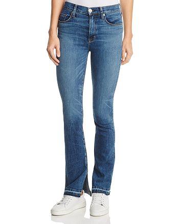 Hudson - Heartbreaker Released Hem Bootcut Jeans in Split Second
