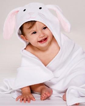 Elegant Baby - Infant Unisex Bunny Baby Bath Wrap