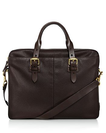 Cole Haan - Brayton Pebbled Leather Briefcase