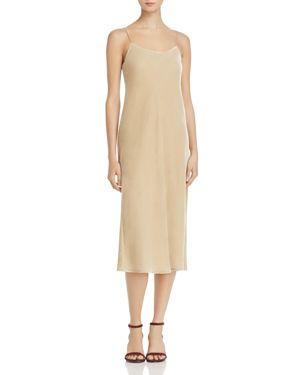 Vince Velvet Slip Dress
