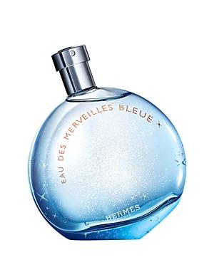 HERMES Eau des Merveilles Bleue Eau de Toilette 3.4 oz.