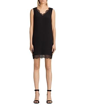Allsaints Camia Lace-Trim Dress