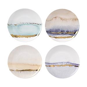 Lenox Radiance Seasons Tidbit Plates, Set of 4