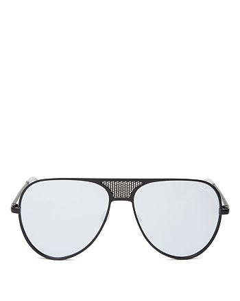 Quay - Women's Iconic Mirrored Aviator Sunglasses, 58mm
