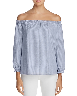 Joie Bamboo Off-the-Shoulder Top