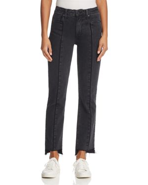 Paige Vintage Julia Step Hem Straight Jeans in Ranger 2657550