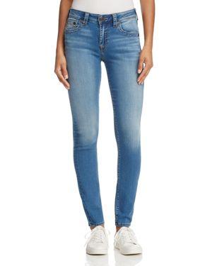 True Religion Jennie Curvy Skinny Jeans in Authentic Indigo