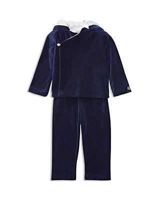 1f3e7251caab Ralph Lauren Boys  Pima Velour Hoodie   Pants Set - Baby ...