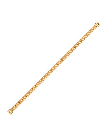 Fred - 18K Yellow Gold Force 10 Large Cable Bracelet