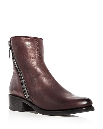 Frye - Women's Demi Leather Block Heel Booties