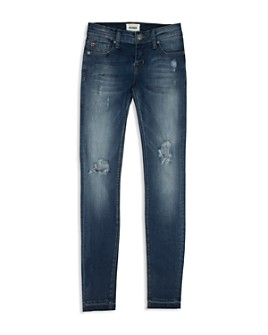 Hudson - Girls' Collin Distressed Skinny Jeans - Little Kid