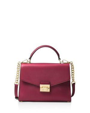 Michael Michael Kors Sloan Top Handle Medium Leather Satchel 2816820