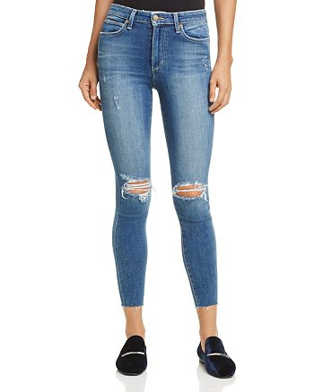 5f1070bd81228 Joe's Jeans The Charlie High-Rise Ankle Skinny Jeans in Kinkade ...