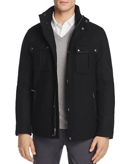 Cole Haan - Melton Wool Trucker Jacket