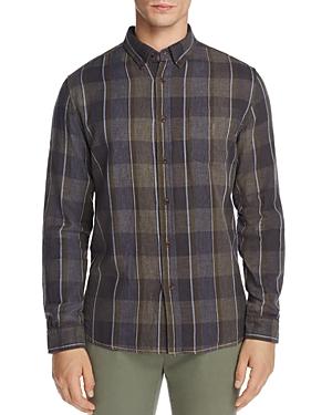 Surfside Supply Plaid Gauze Button-Down Regular Fit Shirt