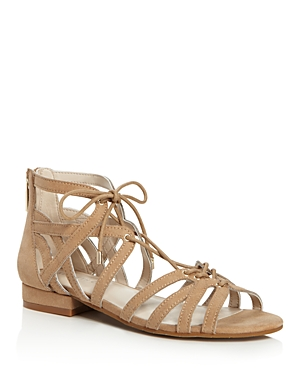 Kenneth Cole Villa Caged Lace Up Sandals