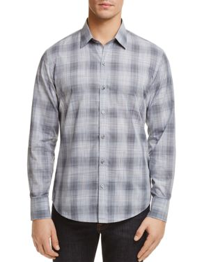 Zachary Prell Perrygold Plaid Button-Down Regular Fit Shirt