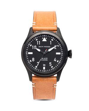 Jack Mason Aviator Watch, 42mm