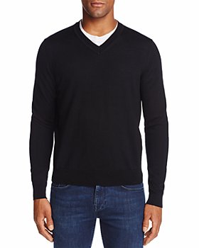 The Men's Store at Bloomingdale's - V-Neck Merino Sweater - 100% Exclusive