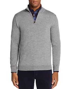 The Men's Store at Bloomingdale's - Quarter-Zip Merino Sweater - 100% Exclusive