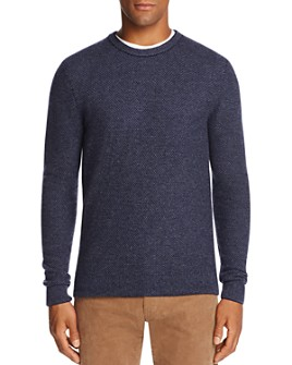 The Men's Store at Bloomingdale's - Wool & Cashmere Honeycomb Sweater - 100% Exclusive