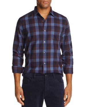 The Men's Store at Bloomingdale's Buffalo-Plaid Classic Fit Shirt - 100% Exclusive thumbnail