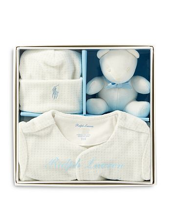 ac84ed9e Ralph Lauren Boys' Velour Gift Box Set - Baby | Bloomingdale's
