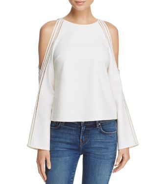 Ramy Brook Tracey Cold-Shoulder Top