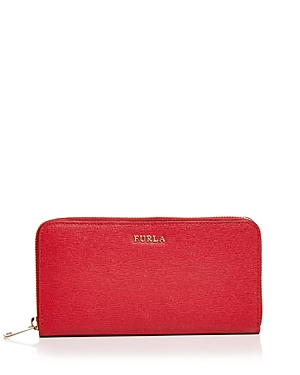 Furla Babylon Zip Around Extra Large Leather Wallet