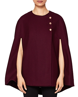 Ted Baker Cieora Buttoned Cape