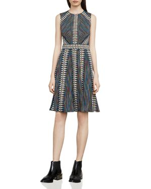 Bcbgmaxazria Rosalya Printed Dress