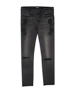 Hudson Girls' Embroidered Skinny Jeans - Big Kid