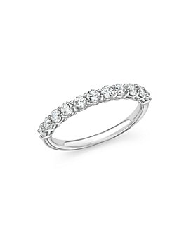 Bloomingdale's - Diamond Band in 14K White Gold, 0.33-1.0 ct. t.w. - 100% Exclusive