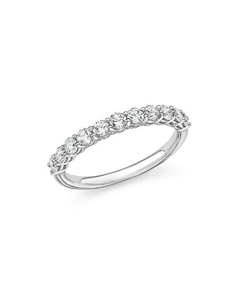 Bloomingdale's - Diamond Band in 14K White Gold, .75 ct. t.w. - 100% Exclusive