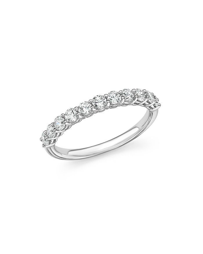 Bloomingdale's - Diamond Band in 14K White Gold, .33-1.0 ct. t.w. - 100% Exclusive