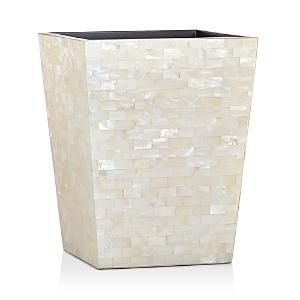 Labrazel White Agate Wastebasket