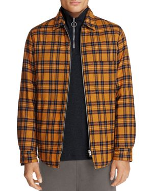 Theory Reversible Zip Shirt Jacket