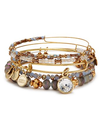 Alex and Ani - Barnum Expandable Wire Bangles, Set of 5 - 100% Exclusive