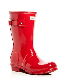 Hunter - Women's Original Short Glossy Rain Boots