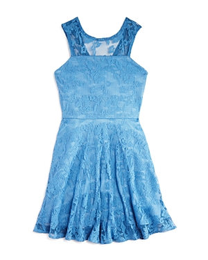 Aqua Girls' Lace Skater Dress, Big Kid - 100% Exclusive
