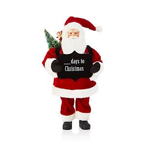 Bloomingdale's Days to Christmas Santa Figurine - 100% Exclusive