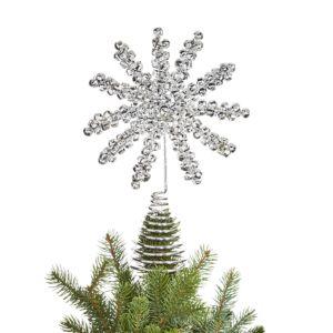 Bloomingdale's Jingle Bell Snowflake Tree Topper - 100% Exclusive