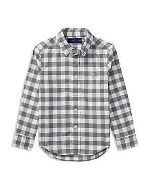 Ralph Lauren Childrenswear Boys Performance Oxford Shirt  Little Kid