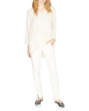 Halston Heritage Piped High/Low Top