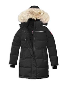 Canada Goose Girls' Juniper Fur-Trimmed Hooded Parka - Big Kid - Bloomingdale's_0