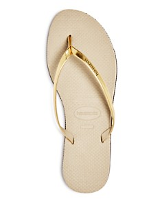 havaianas - Women's You Metallic Slim Flip-Flops